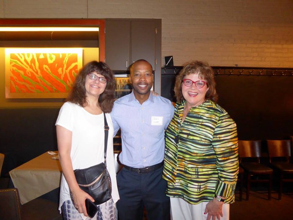 Christina varotsis (Right), Mickell lowery (center), Linn sitler (right)