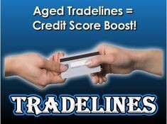 Primary trade lines and authorized user tradelines  increase your FICO scores and save you money on interest for mortgages, car loans and installment loans.
