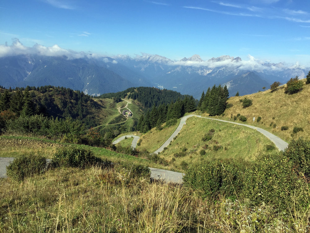 It looks peaceful, but Monte Zoncolan carved a crater into my self-esteem.