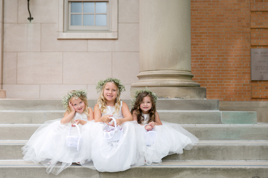 flower-girls-on-church-stairs