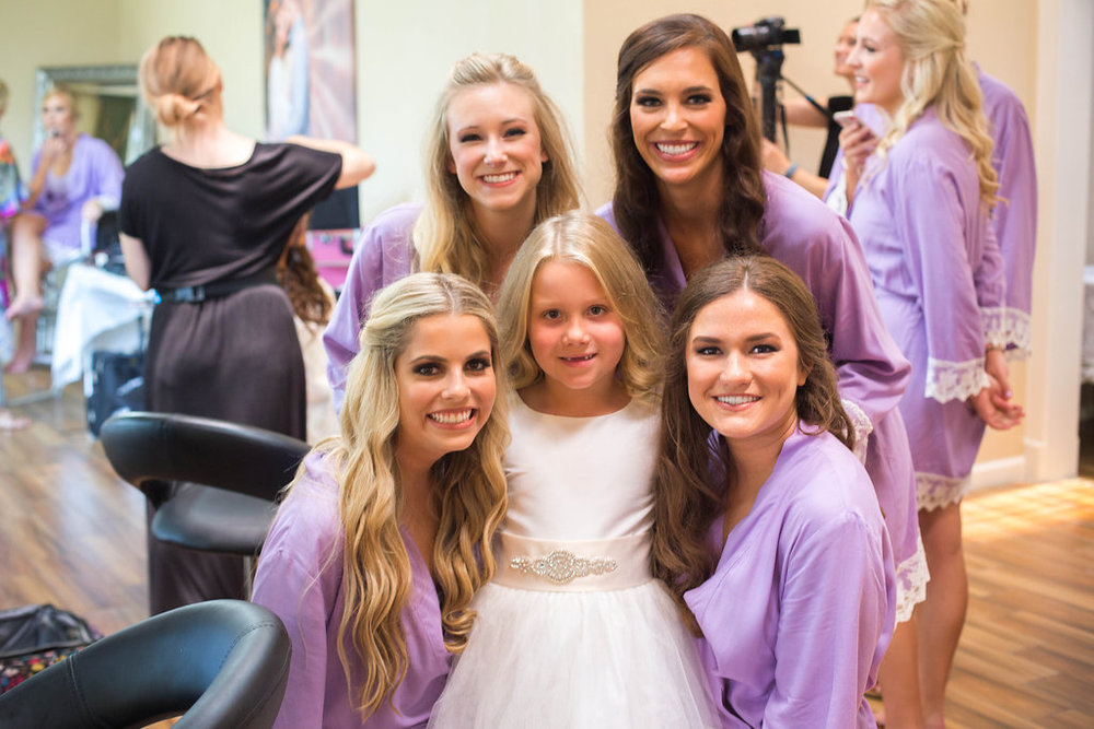 bridesmaids-and-flower-girls-in-robes
