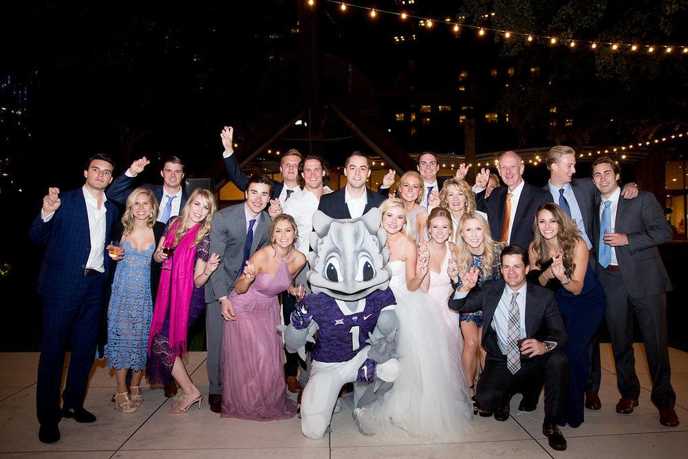 tcu-superfrog-at-wedding
