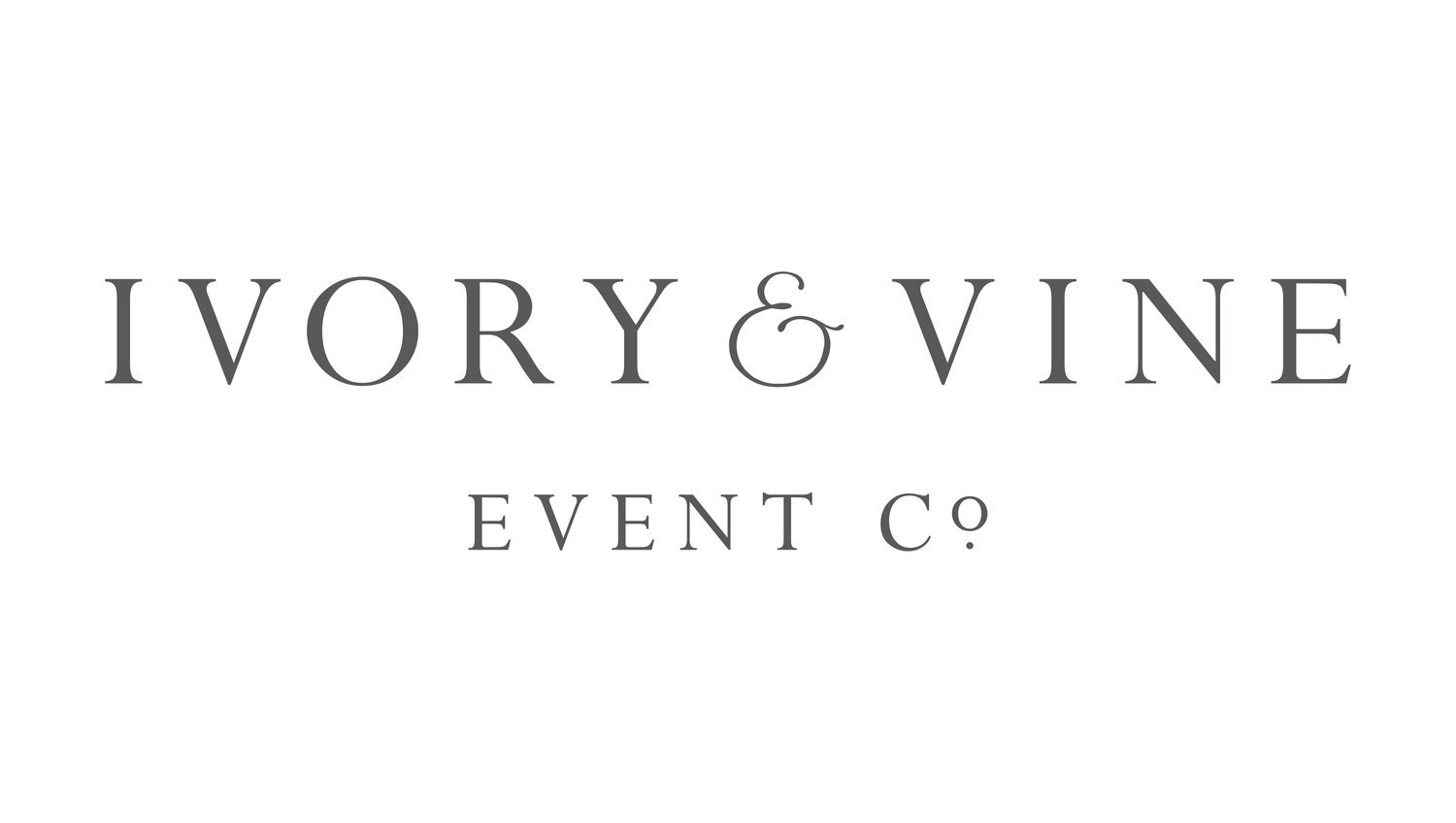 Ivory & Vine Event Co.  | Dallas Wedding Planner