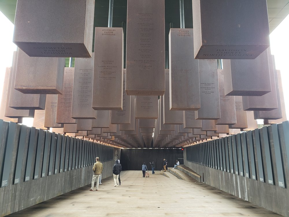 The sacred spaces of the Peace & Justice Memorial