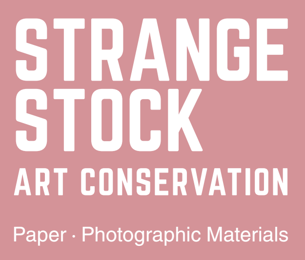 STRANGE STOCK ART CONSERVATION