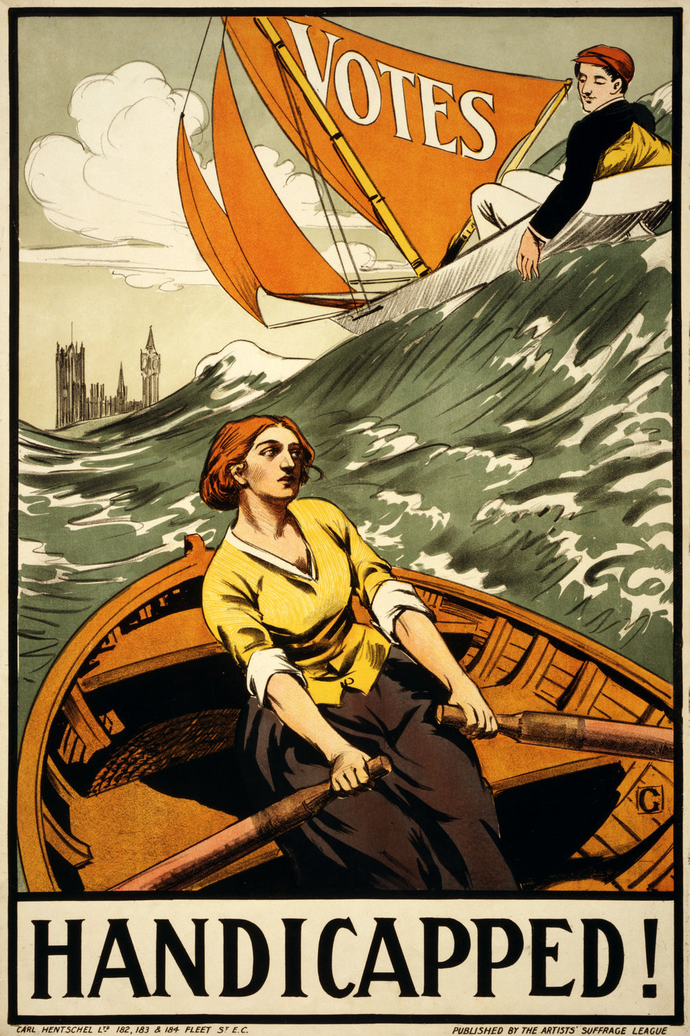 Handicapped!_Women's_suffrage_poster,_1910s.jpg