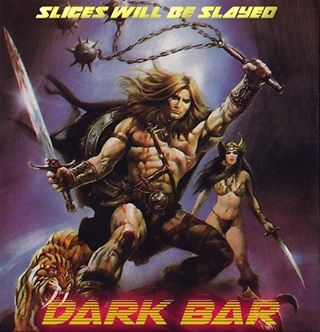"""""""The Quest For Happy Hour"""" starts at Dark Bar. Happy hour prices every day from 4-7pm ⚔️"""