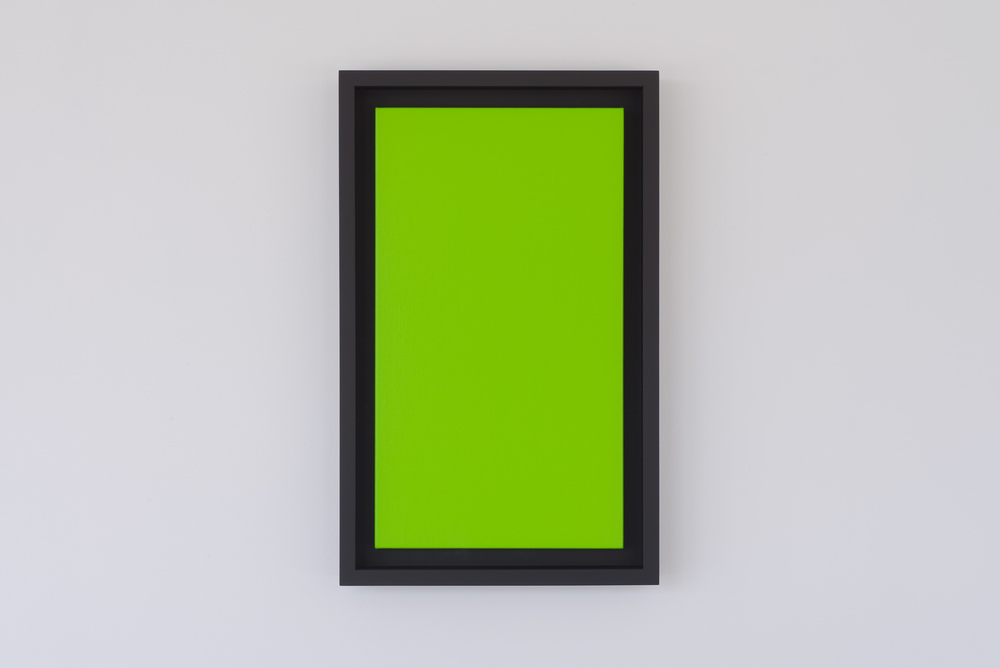 Untitled (Vanadium Green) from the series 16:9, 2013