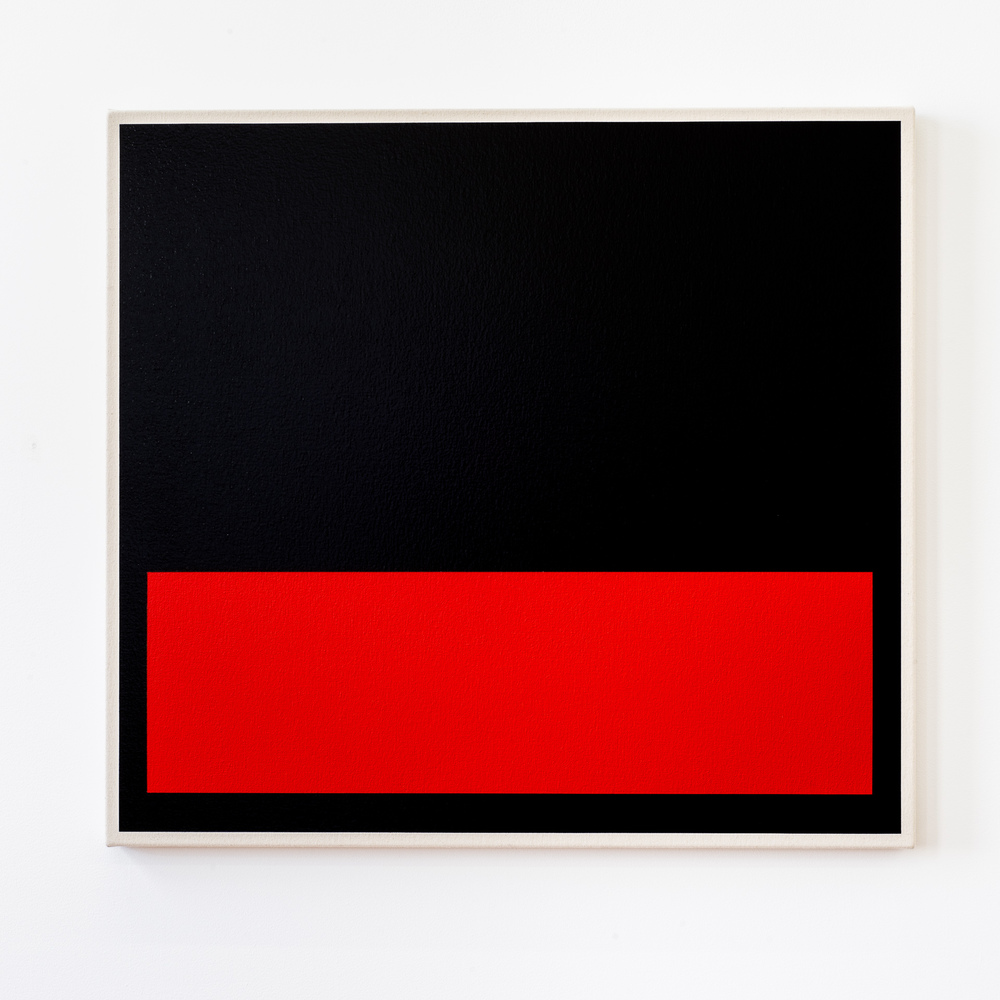 Homage to Bang & Olufsen (Cadmium Red), 2012