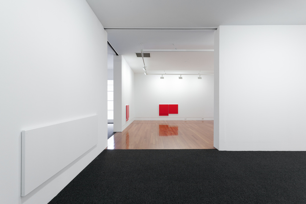 Installation view) Untitled 710 x 1197 (Cadmium Red), 2011