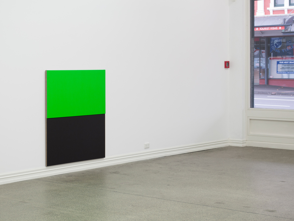 Untitled relief from the series 16:9 (Green), 2010