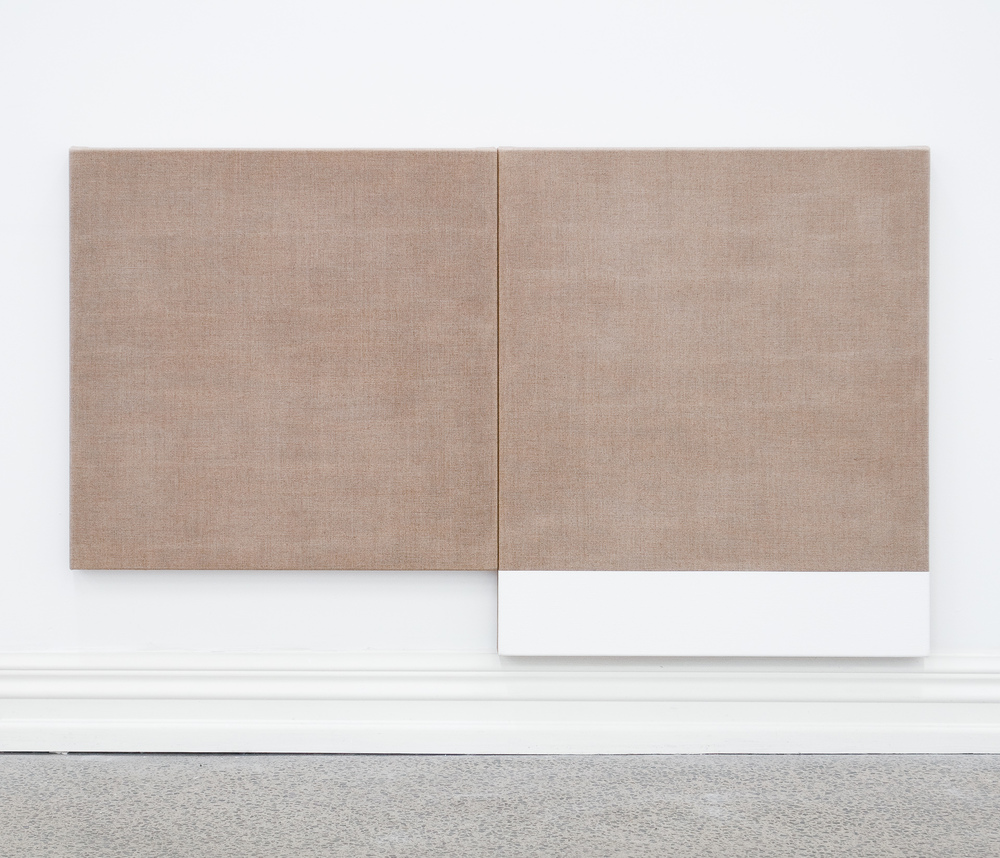 Untitled diptych (Reverse), 2010
