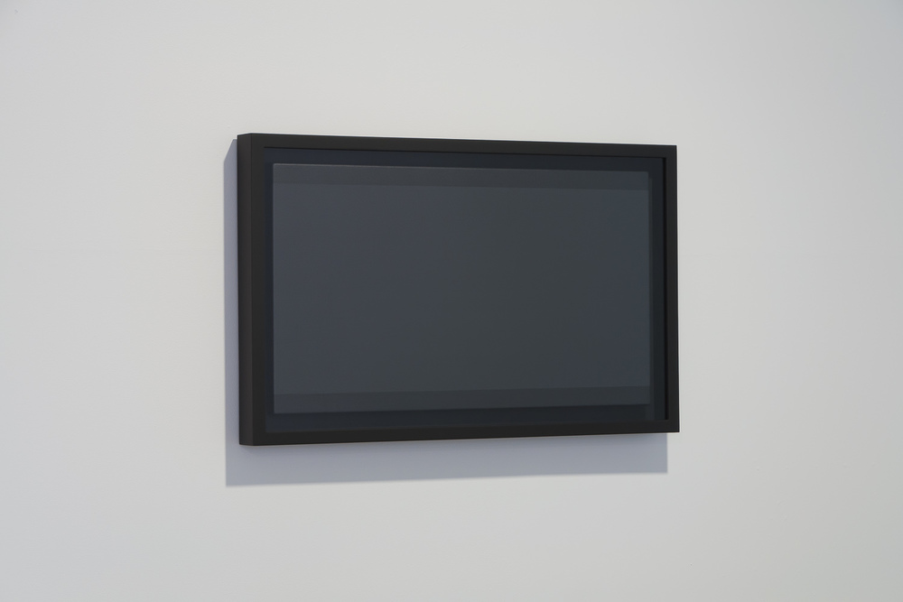 Image: Matt Henry, Achromatic Grey (Letterbox) from the series 16:9, 2011, 618 x 1000 x 69