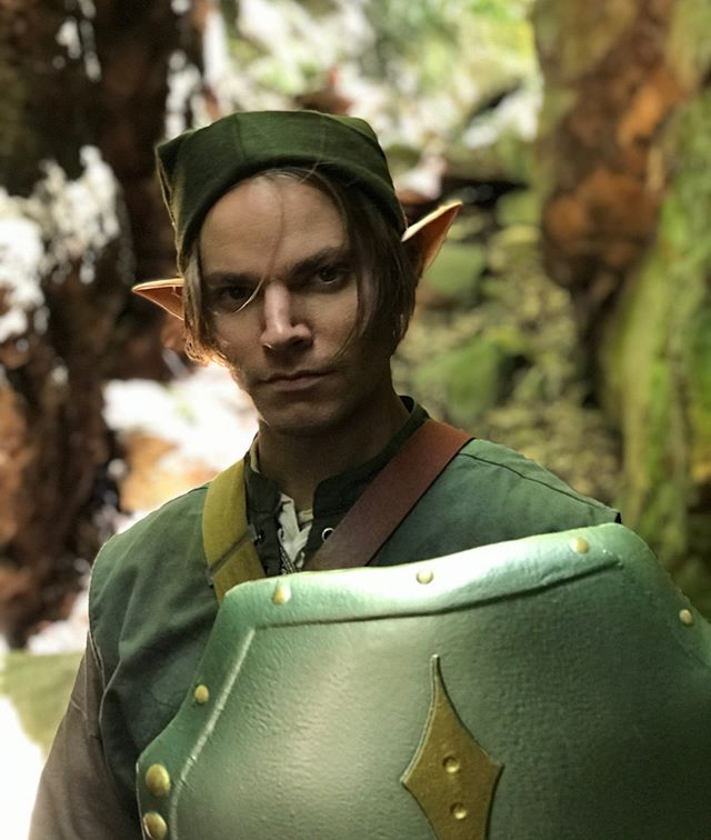 Great day of filming our upcoming #legendofzelda project with @riberdy7 and @jeffmoffittactor !! Special thanks to @blessedthewolf for helping out behind the scenes!!