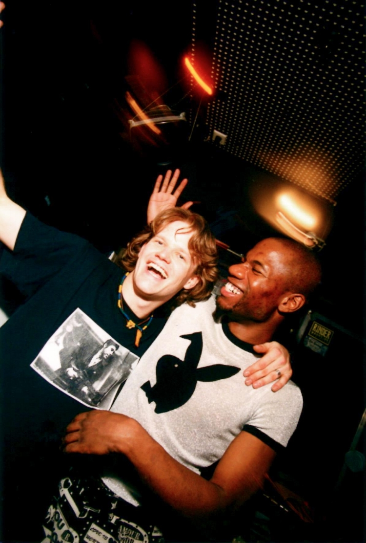 Roland & Cajmere at Wild Pitch Club Frankfurt/Main.   Photo by Ernst Stratmann.