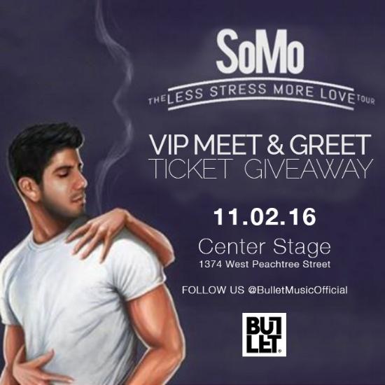 Win vip tickets a meet greet for somo the less stress more love win vip tickets a meet greet for somo the less stress more love tour bullet music m4hsunfo