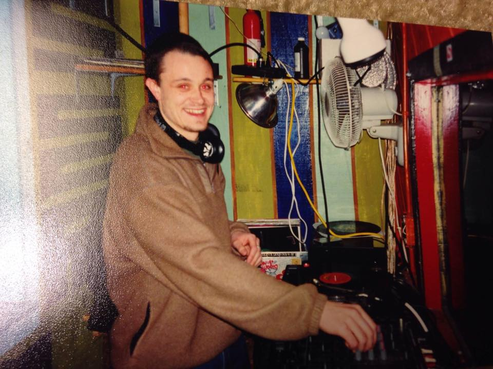 Keiran Neely at Nomenclature in 1998