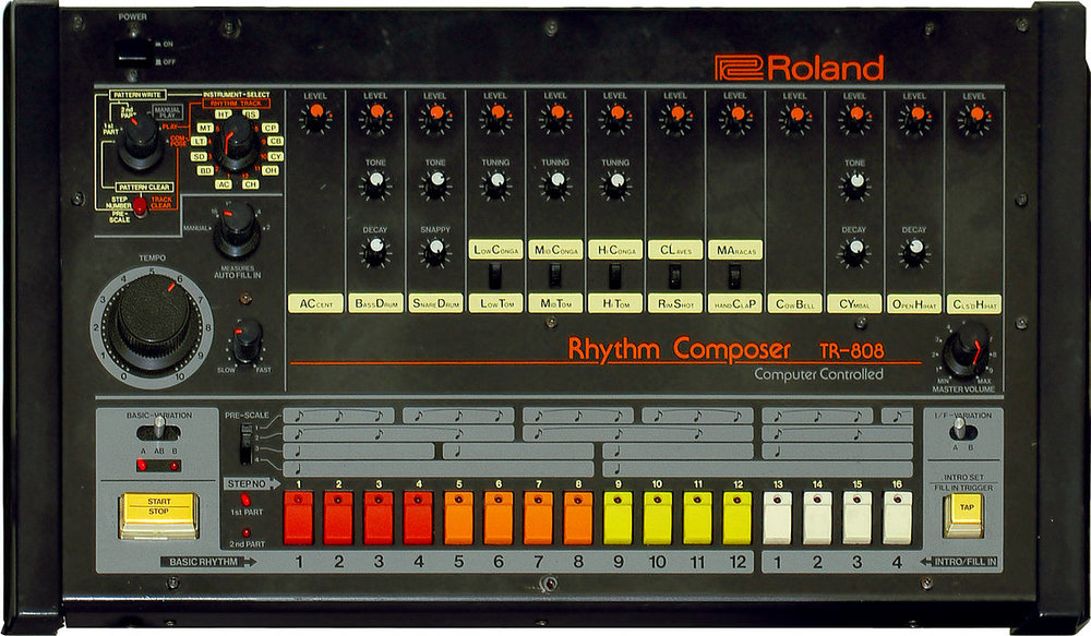 Kakehashi's TR-808 Drum Machine