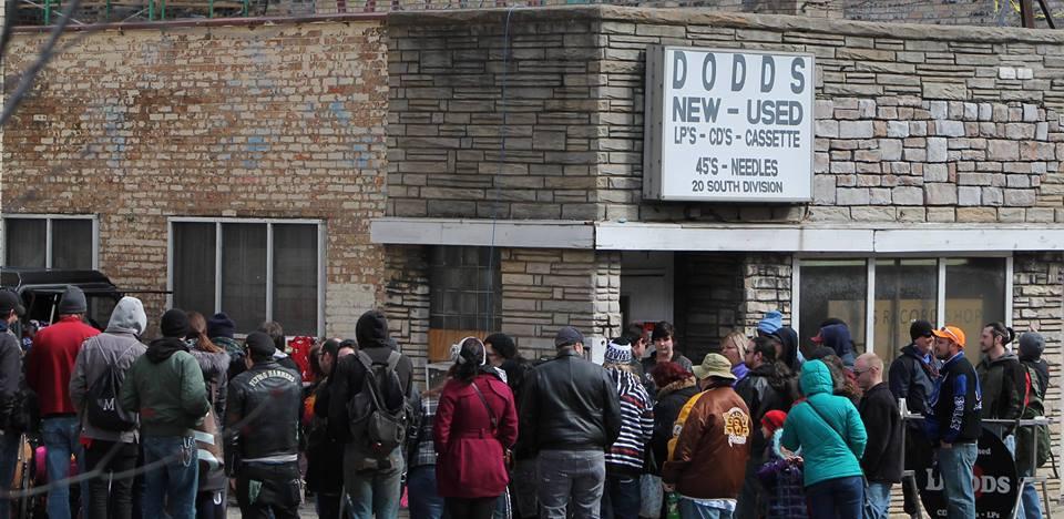 Credit Dodd's Record Store via Facebook