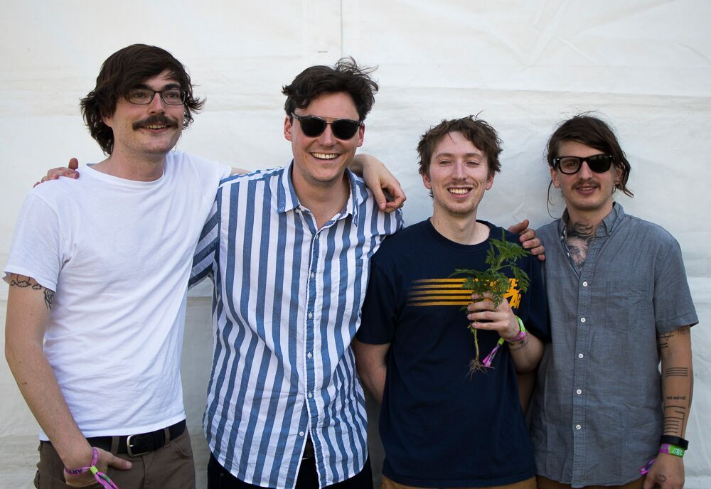 interview the front bottoms chat at bonnaroo bullet music