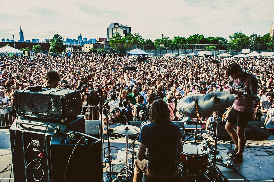 Thee Oh Sees at the 2014 Northside Festival. (Image via  facebook.com )