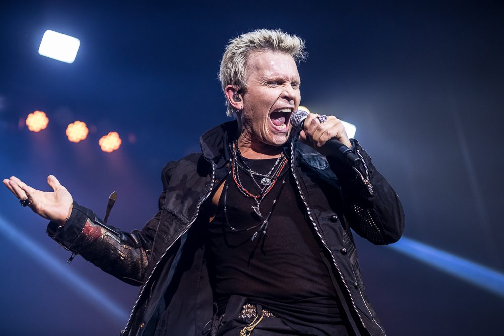 Billy Idol  at the Coca-Cola Roxy shot by  Sanjeev Singhal  on May 4, 2018