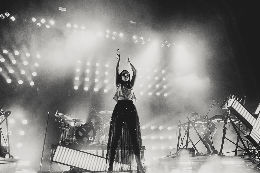 "CHVRCHES  at the Tabernacle shot by  Soon ""Mac"" Kweon  on October 13, 2018"
