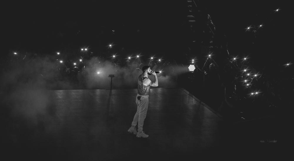 Drake  at State Farm Arena shot by  Marina Delaine-Siegel  on November 27, 2018