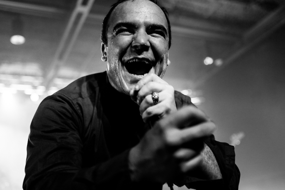 Future Islands  at The Senate in Columbia, SC shot by  Perry McLeod  on September 27. 2018