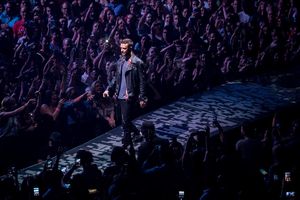 Justin Timberlake  at Infinite Energy Center shot by  Sanjeev Singhal  on May 14, 2018