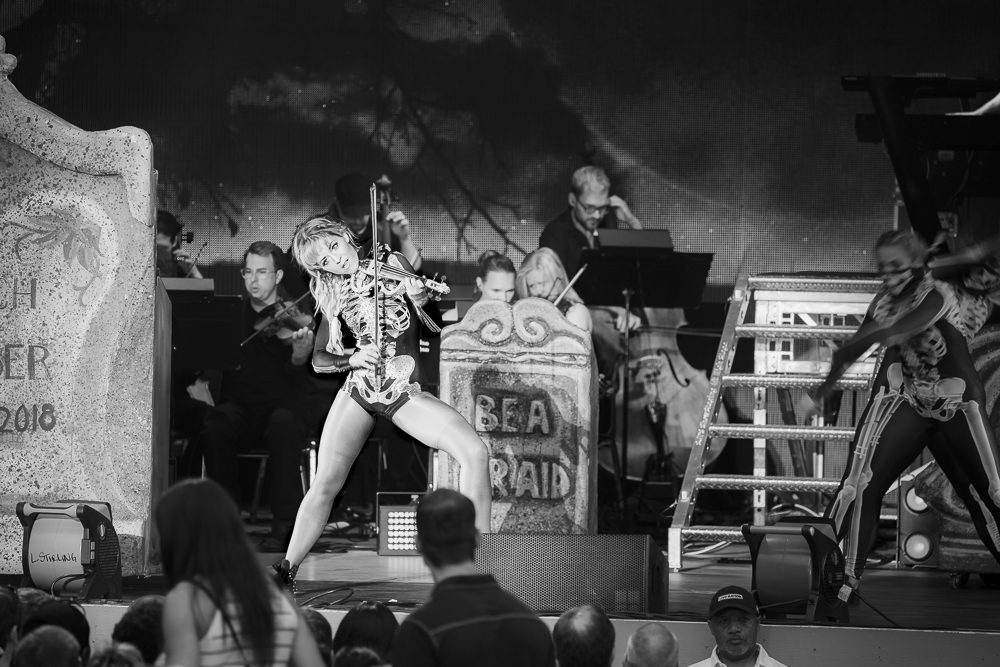 Lindsey Stirling  at Chastain Park shot by  Marina Delaine-Siegel  on August 17, 2018