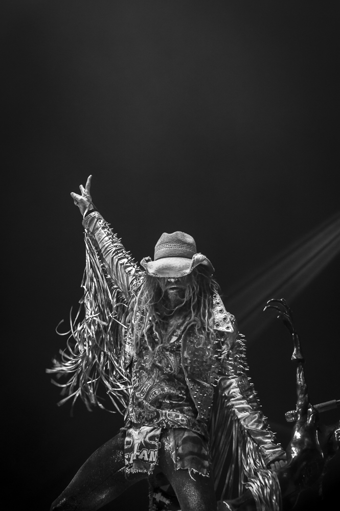 Rob Zombie  at Cellaris Amphitheatre shot by  Sarah Htun  on August 17, 2018