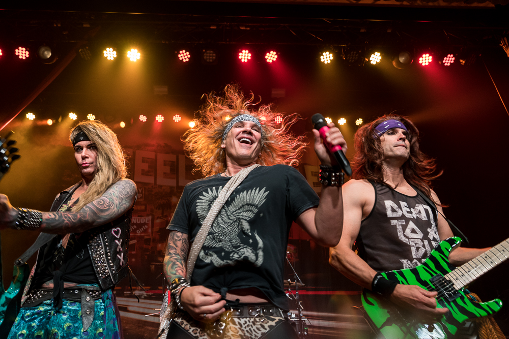 "Steel Panther  at Buckhead Theatre shot by  Soon ""Mac"" Kweon  on August 17, 2018"