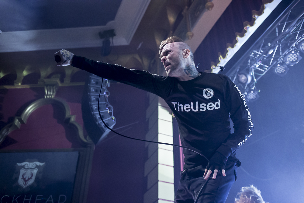 The Used  at Buckhead Theatre shot by  Elyssa Velez  on May 4, 2018