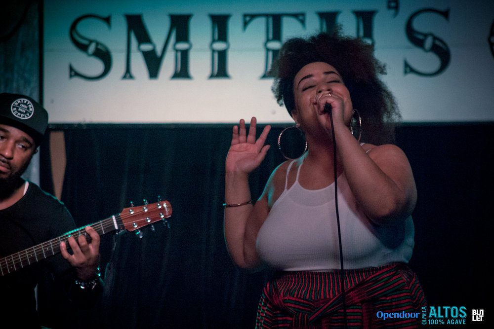 Chantae Cann  at Smith's Olde Bar shot by  Grace Kelly  on February 21, 2018