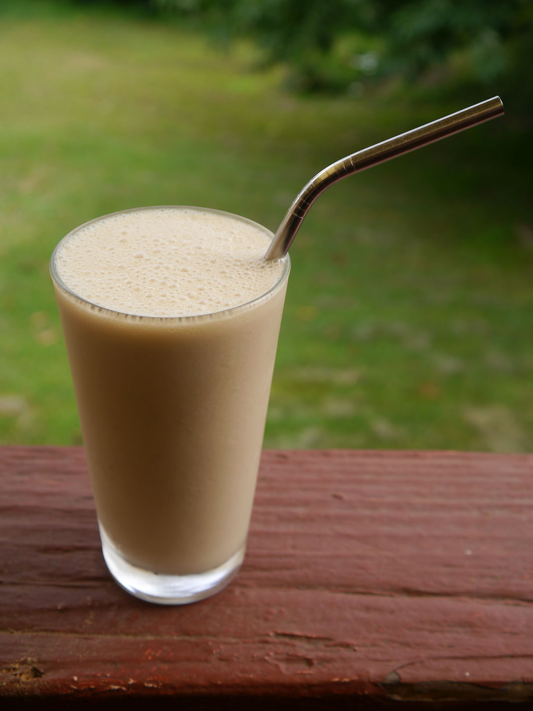Gut-Healing Banana Iced Coffee