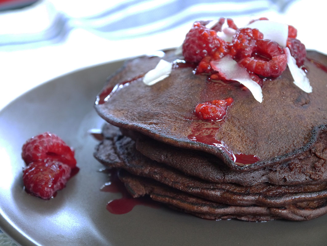 Chocolate Pancakes 1