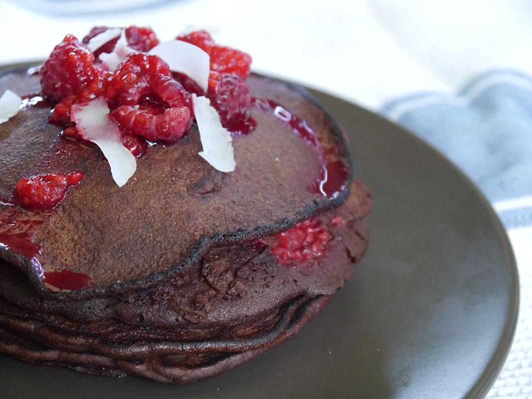 Chocolate Pancakes 3
