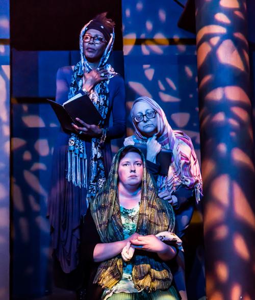 The Trojan Women, Stage 9, Hutchinson Kansas (2016) photo: Kristen Garlow Piper