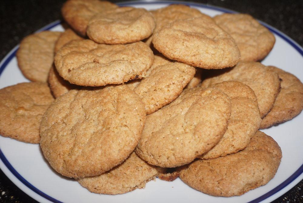 Snickerdoole Cookies