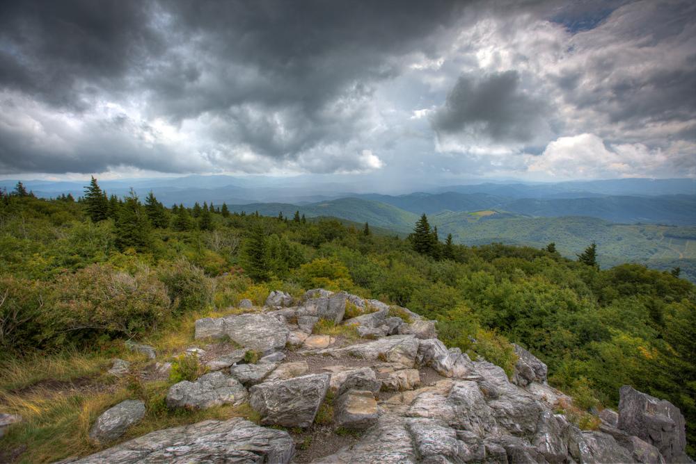 Greyson Highlands State Park in Virginia