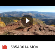 Slider shot from Red and White Mountain in Vail, Colorado. 4K Photo JPEG codec straight out of 5D Mark IV. Download size: 1.3gigs