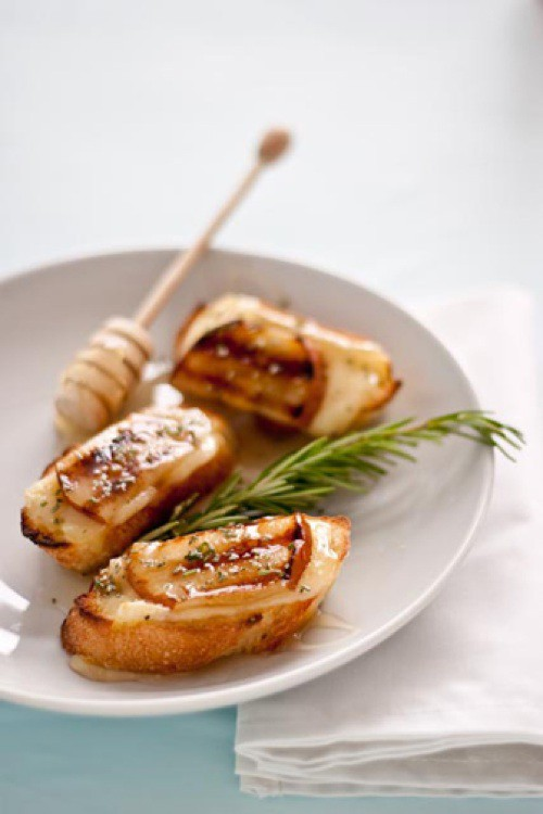 grilled pear