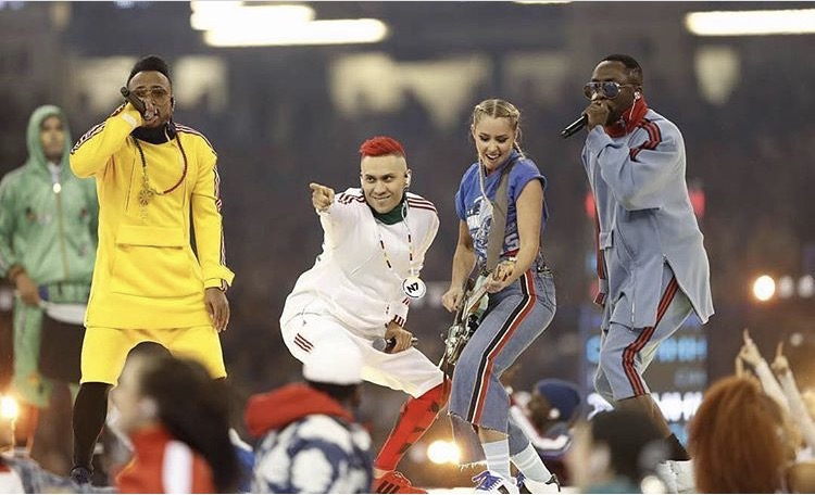 2017 UEFA Opening Ceremony in Cardiff, Wales with the Black Eyed Peas
