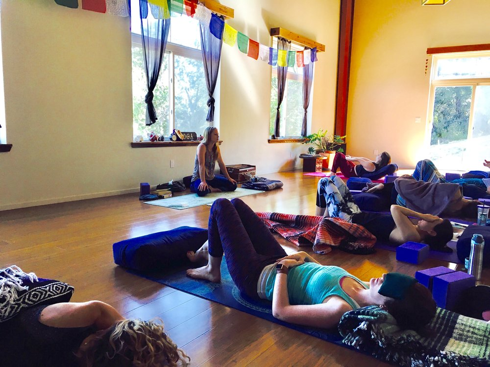 yin yoga sagrada