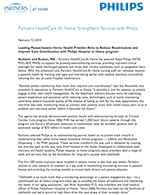 Philips Partners HealthCare Release