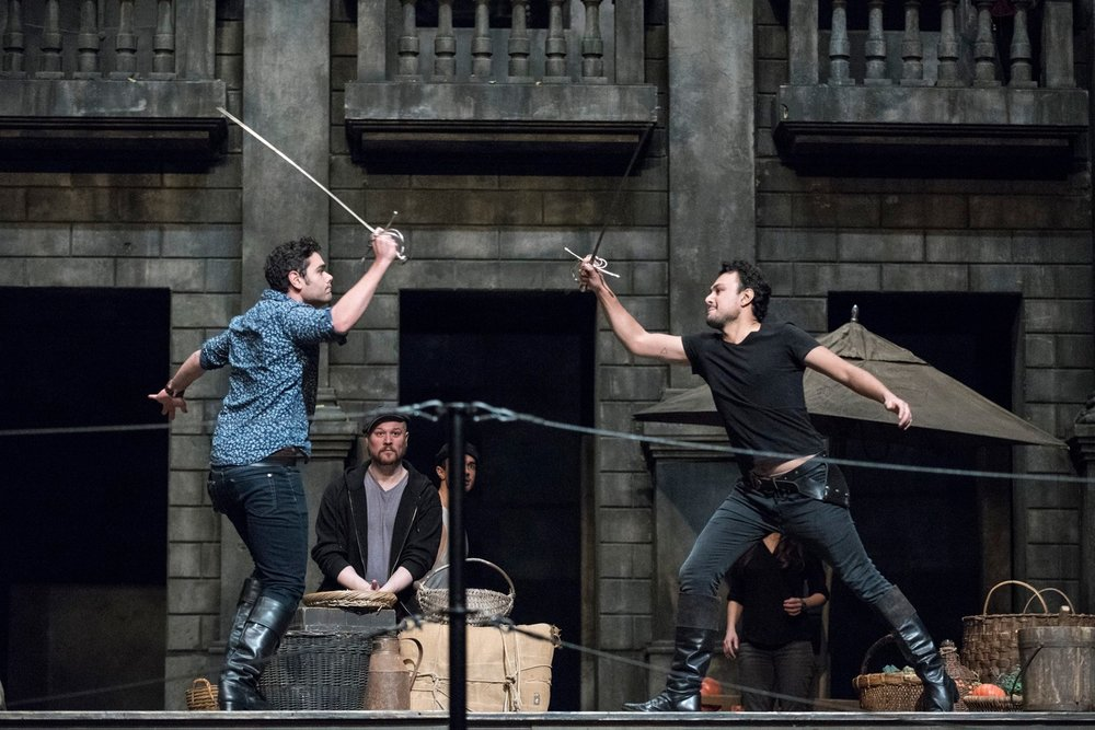 Metropolitan Opera: Rehearsal for Romeo et Juliette Photos by Jonathan Tichler