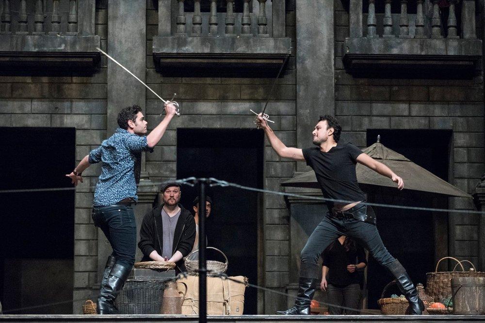 Metropolitan Opera: Rehearsal for Romeo et Juliette Photos by Jonathan Tichler