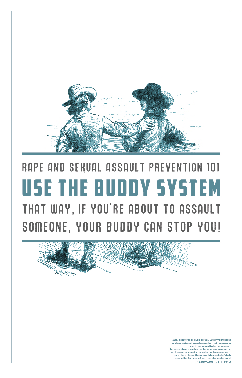 My BFA thesis project, this project looked at the victim-is-responsible bias that shows up in sexual assault prevention tips commonly doled out.