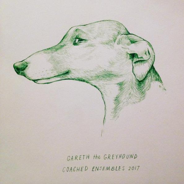 My first improv team was called Gareth the Greyhound.